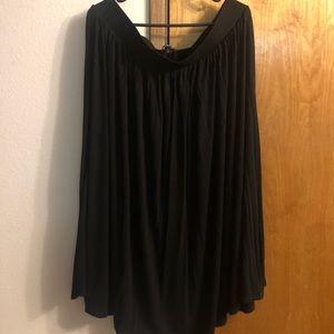 Torrid Black Midi Skirt - Torrid Size 1
